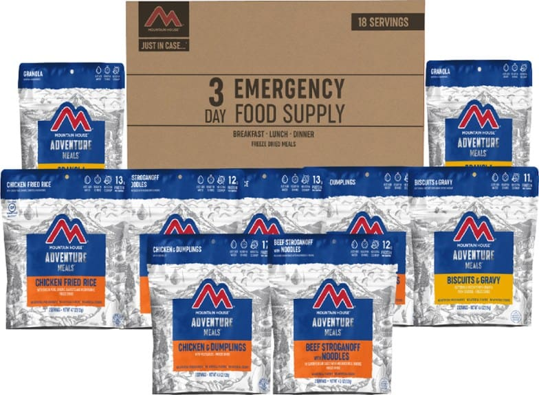 Mountain House 3 Day Emergency Food Supply Kit