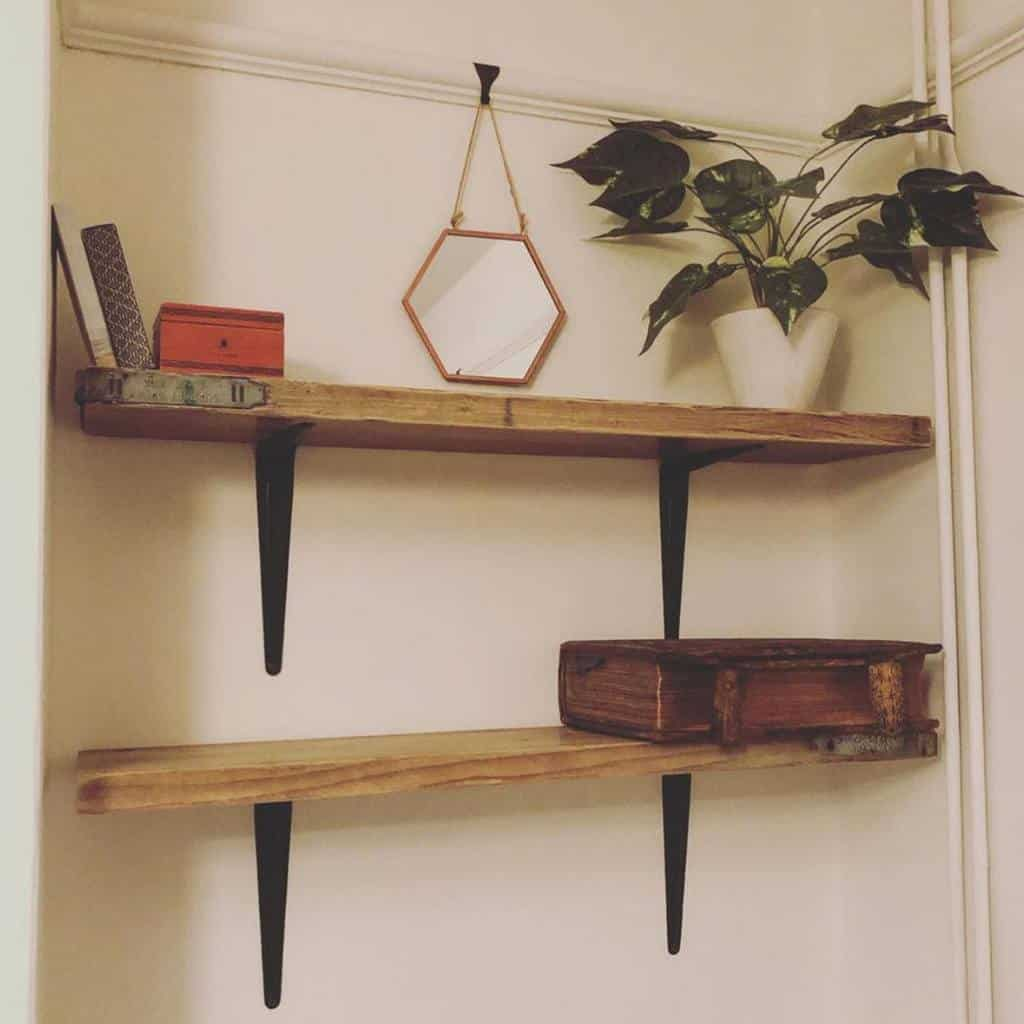 Mounted Shelving Ideas the.mid.terrace