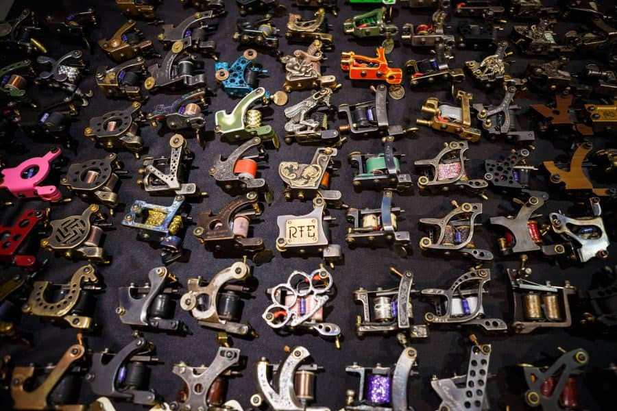 Multiple Different Tattoo Machines