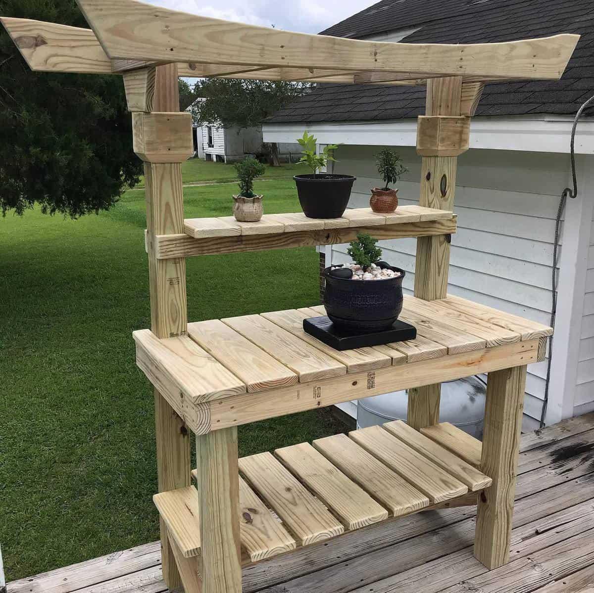 Multipurpose Garden Bench Ideas -tyreetowncritters