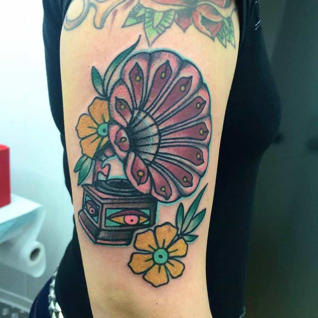 Music Arm Tattoos for Women therippermike