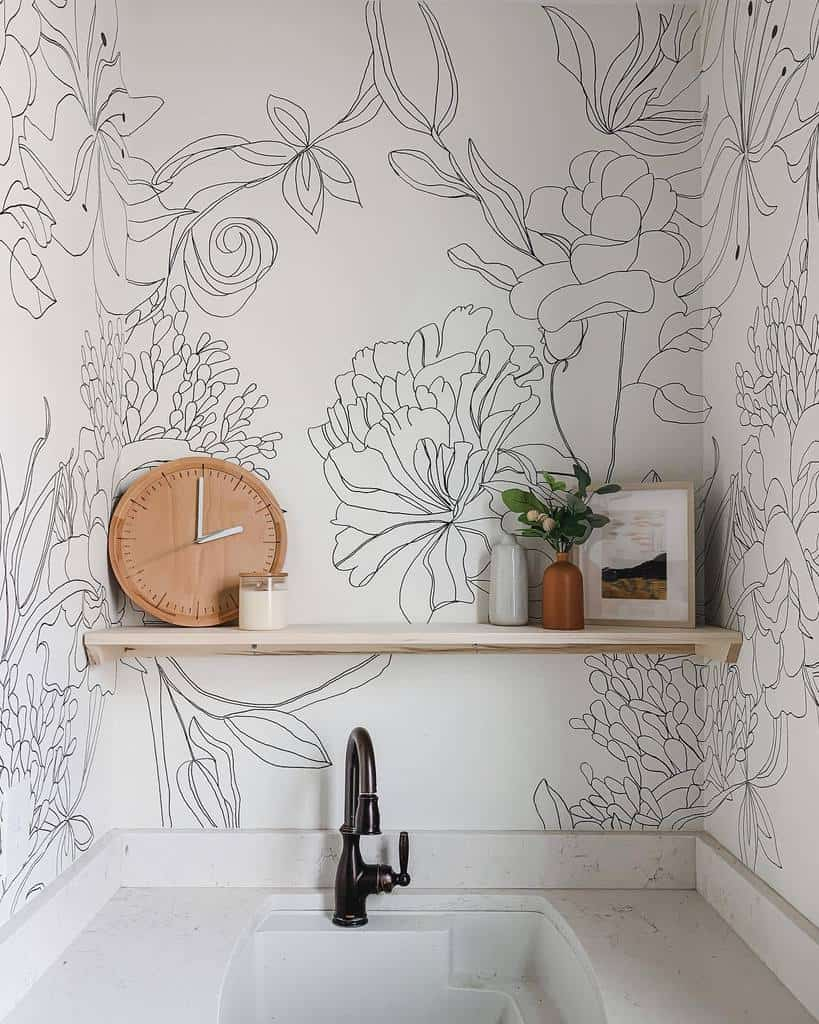 Nature Wall Mural Ideas -spacefordreaming
