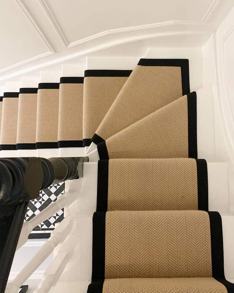 Neutral Stair Runner Ideas -se9_edwardian_terrace