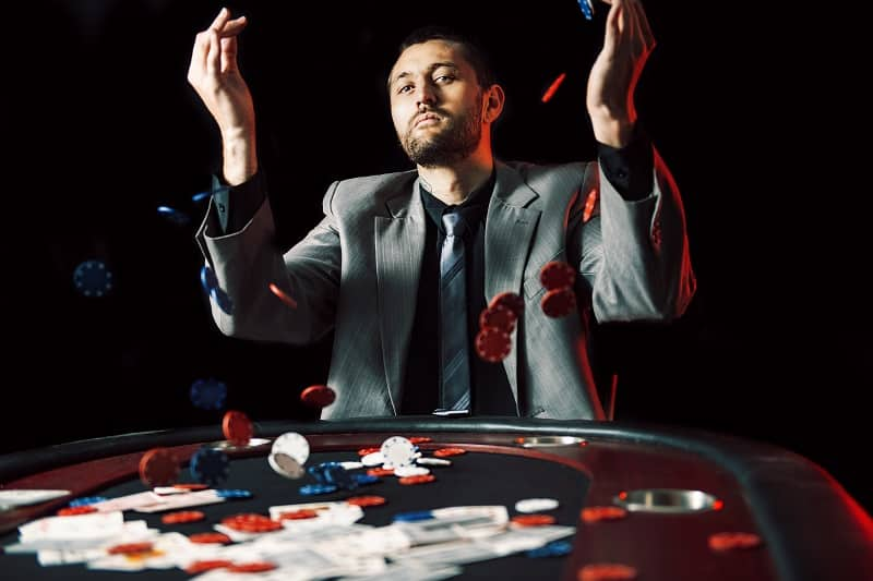 Never be afraid to lose all of your money - BlackJack Strategy
