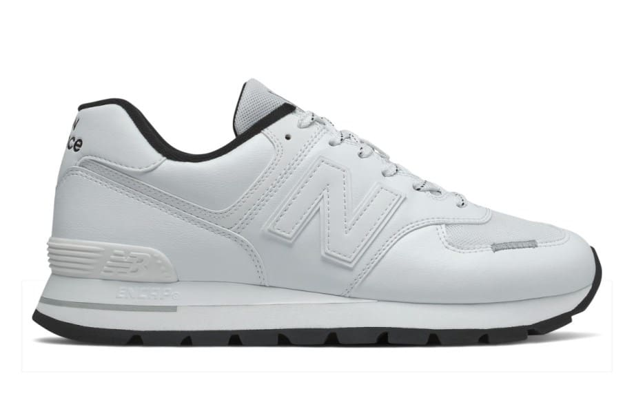 New Balance niedrige Sneakers aus Leder