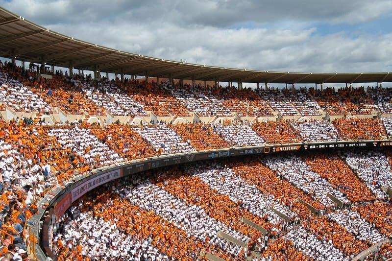 Neyland Stadium, University of Tennessee (Knoxville, Tennessee)