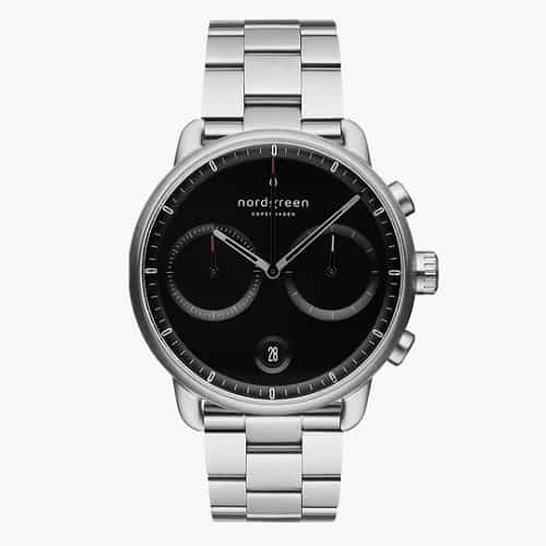 Nordgreen Pioneer Watch with Black Dial