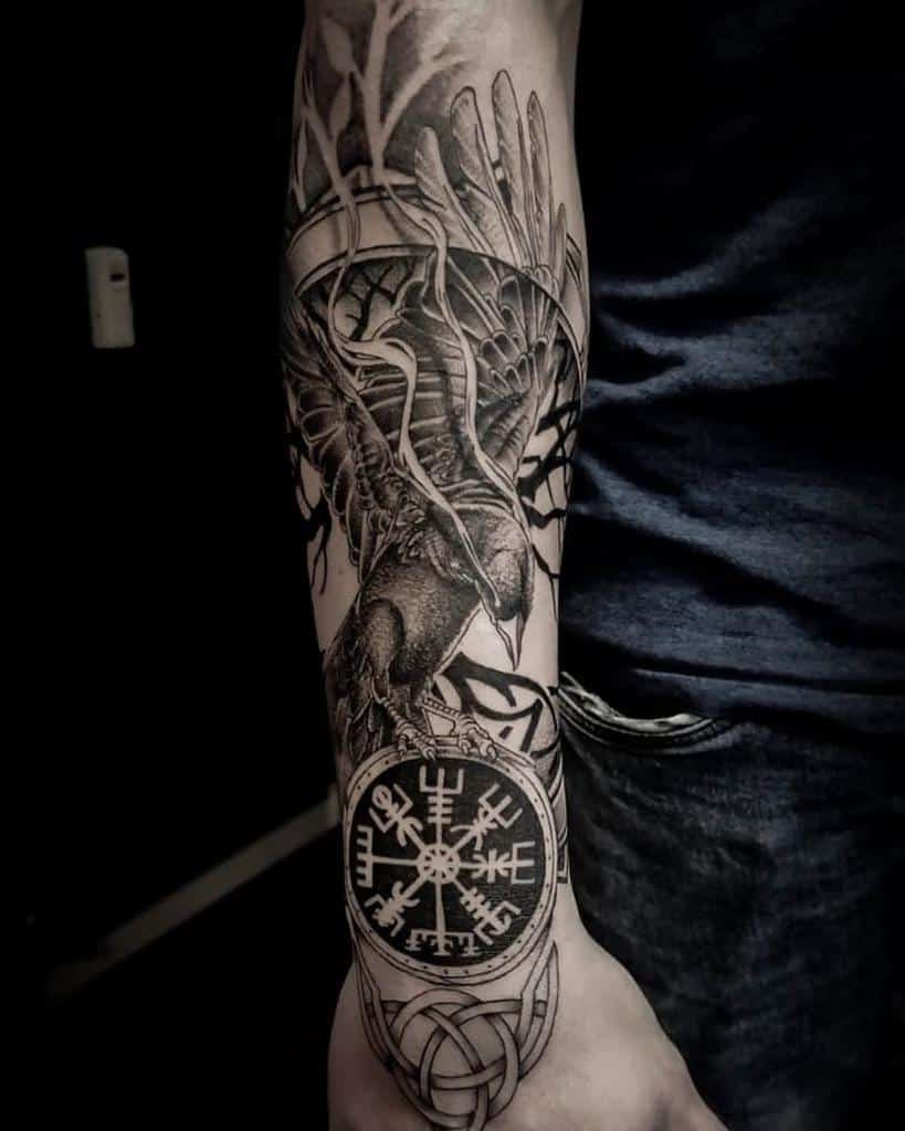 Nordic Forearm Tattoos tattoofreestyle