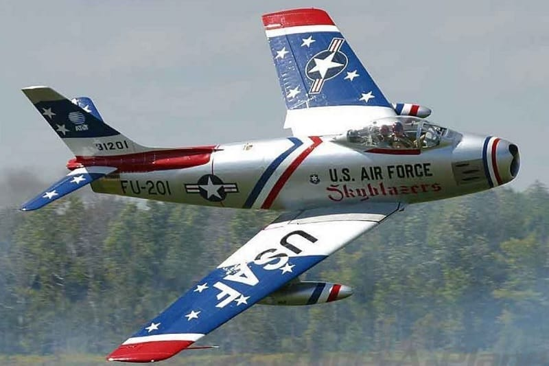 North American F86F Sabre ($250,000)