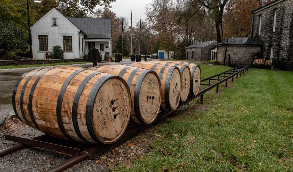 Oak Barrels at Woodford Reserve