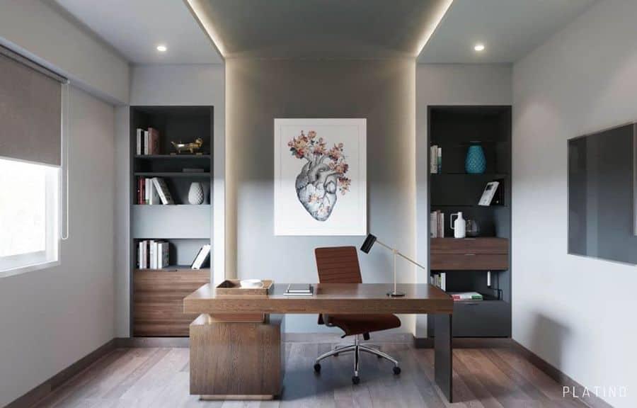 Office Study Room Ideas platino.interiors