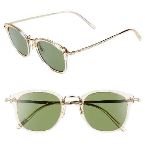 Oliver Peoples Circular Sunglasses