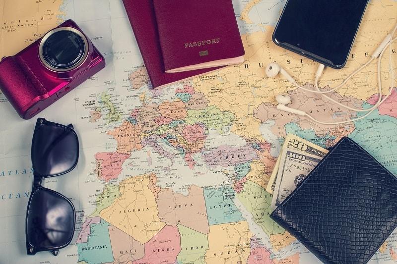 On Route Essentials - Essentials Travel Checklist For Men