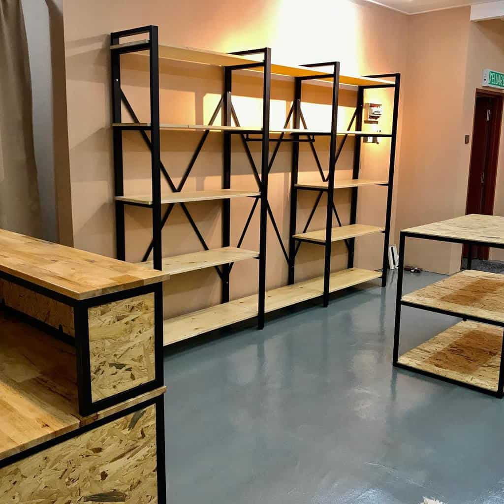 Open Shelving Ideas azs_fabrication