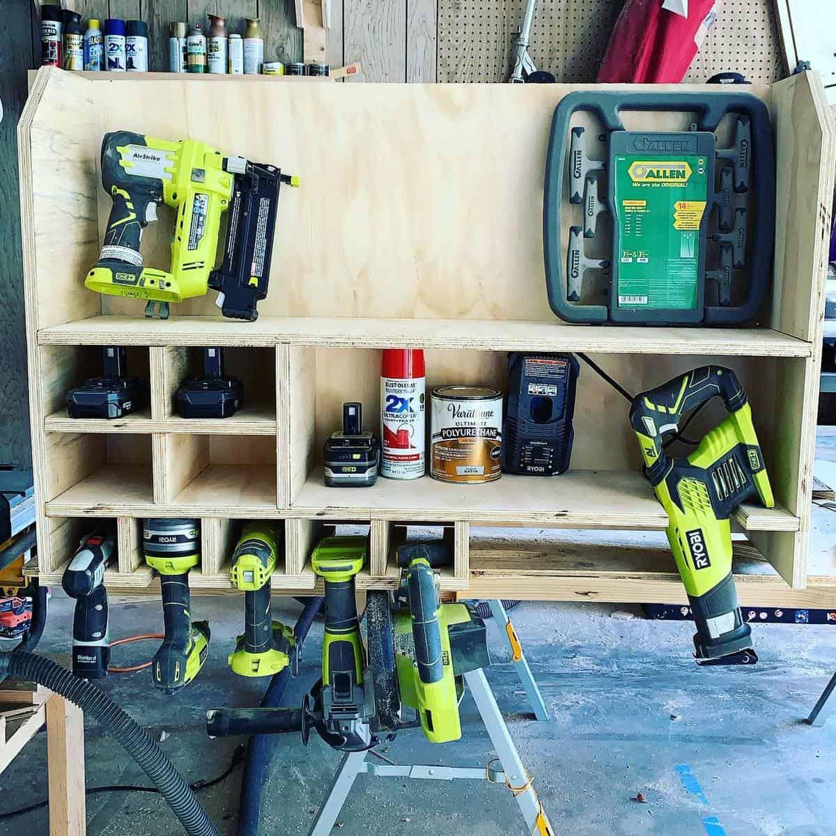 Organization Tool Storage Ideas -valleywood107