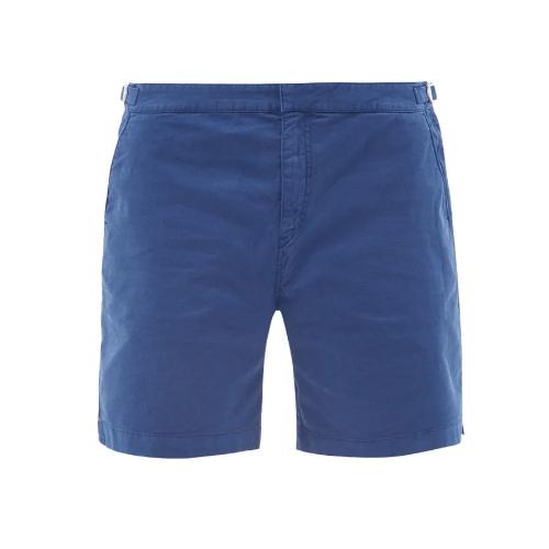 Orlebar Brown Dane Cotton-Blend Twill Shorts