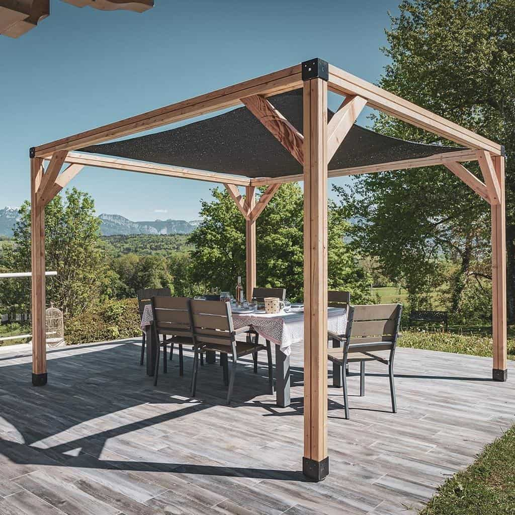 Outdoor DIY Backyard Ideas -lafrenchcabane