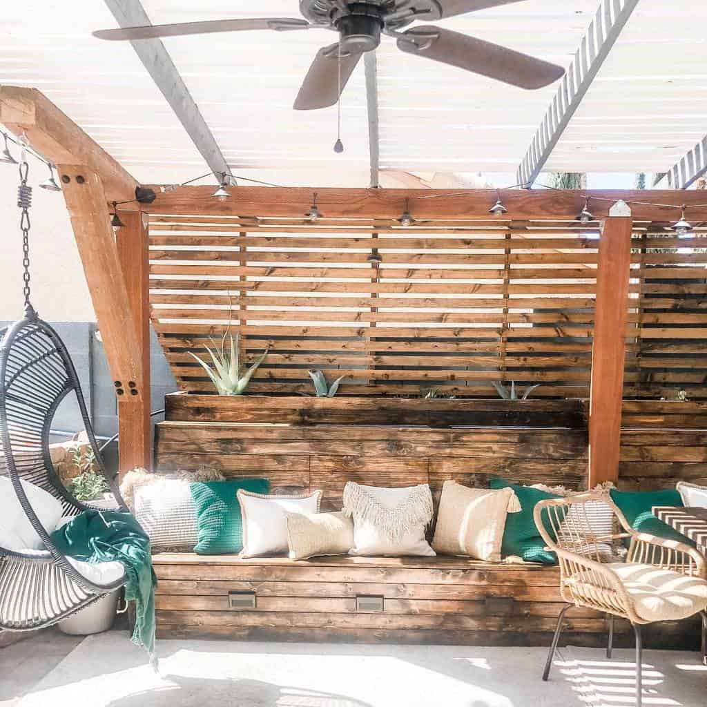 Outdoor DIY Backyard Ideas -nicolelucevichome