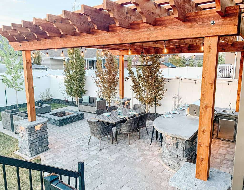 Outdoor DIY Backyard Ideas -tayashomepaige
