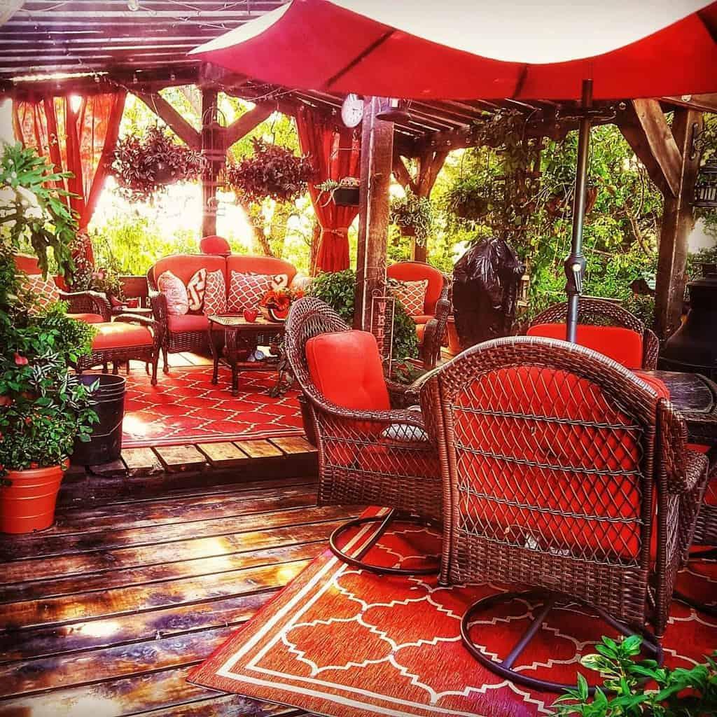 Outdoor Deck Decorating Ideas -debradolechek