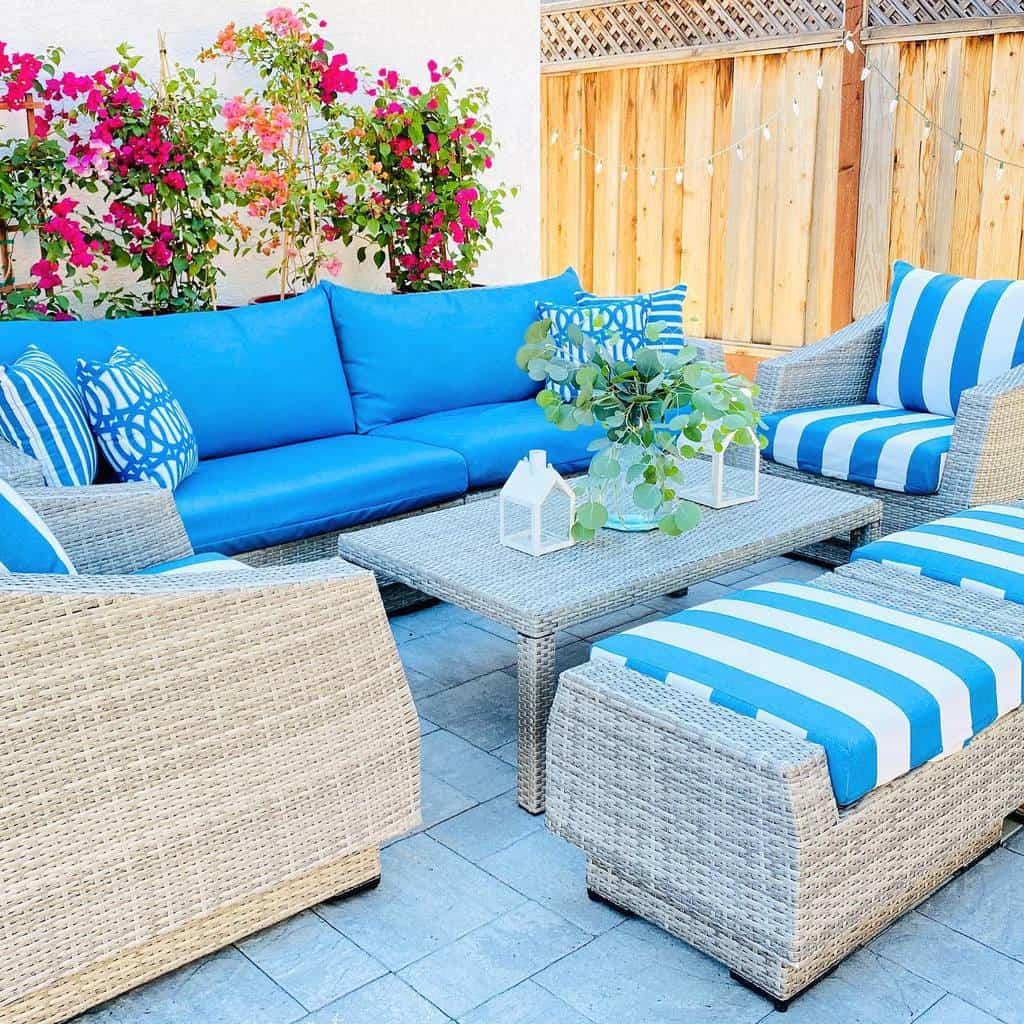 Outdoor Patio Garden Ideas -thehomeinvogue