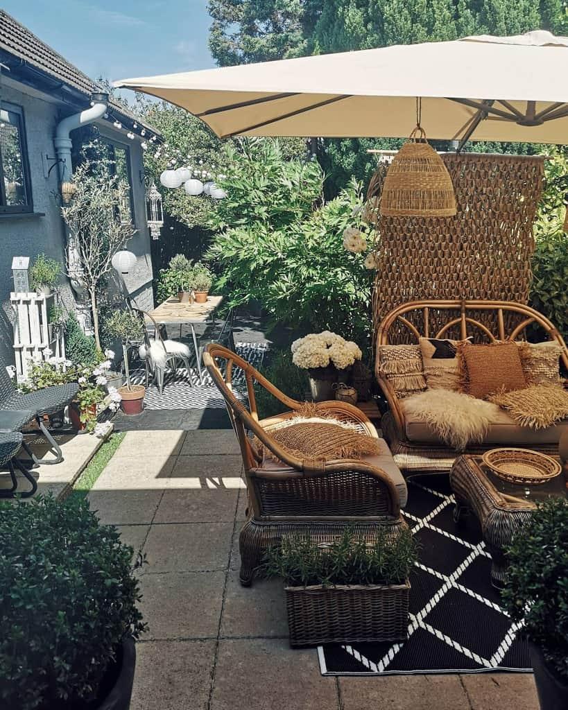 Outdoor Patio Garden Ideas -tiffyandflow