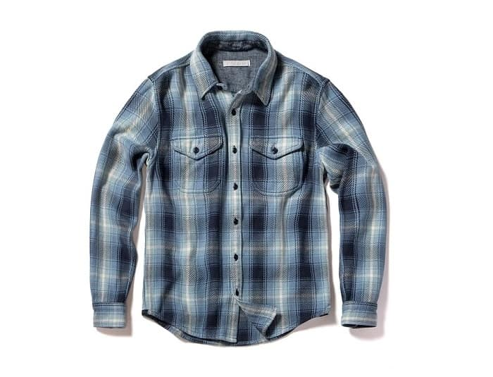 Outerknown Blanket Flannel Shirt