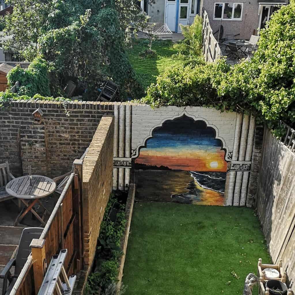 Outside Wall Painting -muralsbysarah
