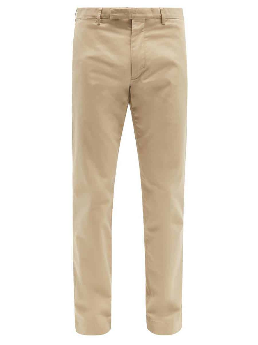 POLO RALPH LAUREN Slim-fit stretch-cotton chino trousers