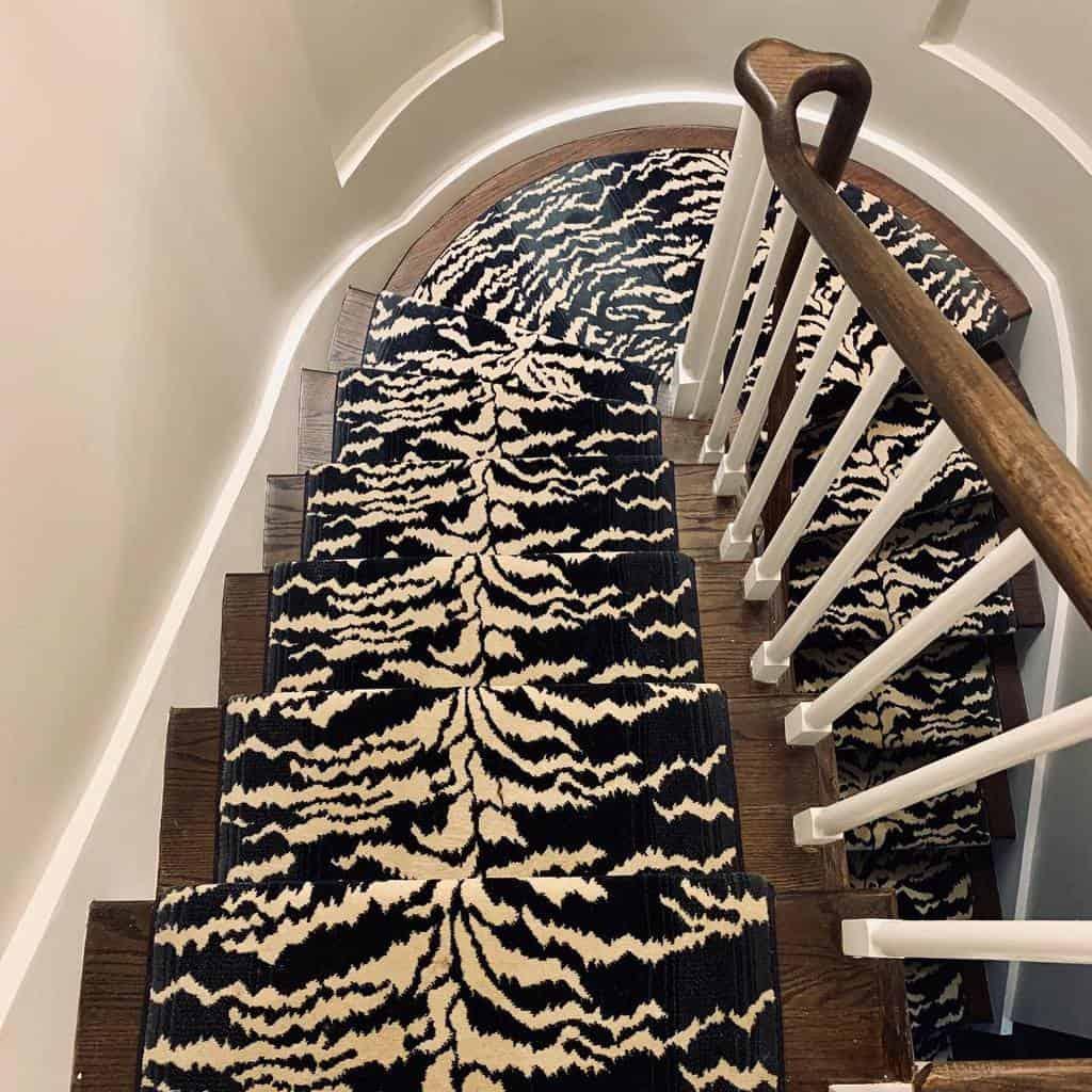 Painted Stair Runner Ideas -jennytzakasinteriors