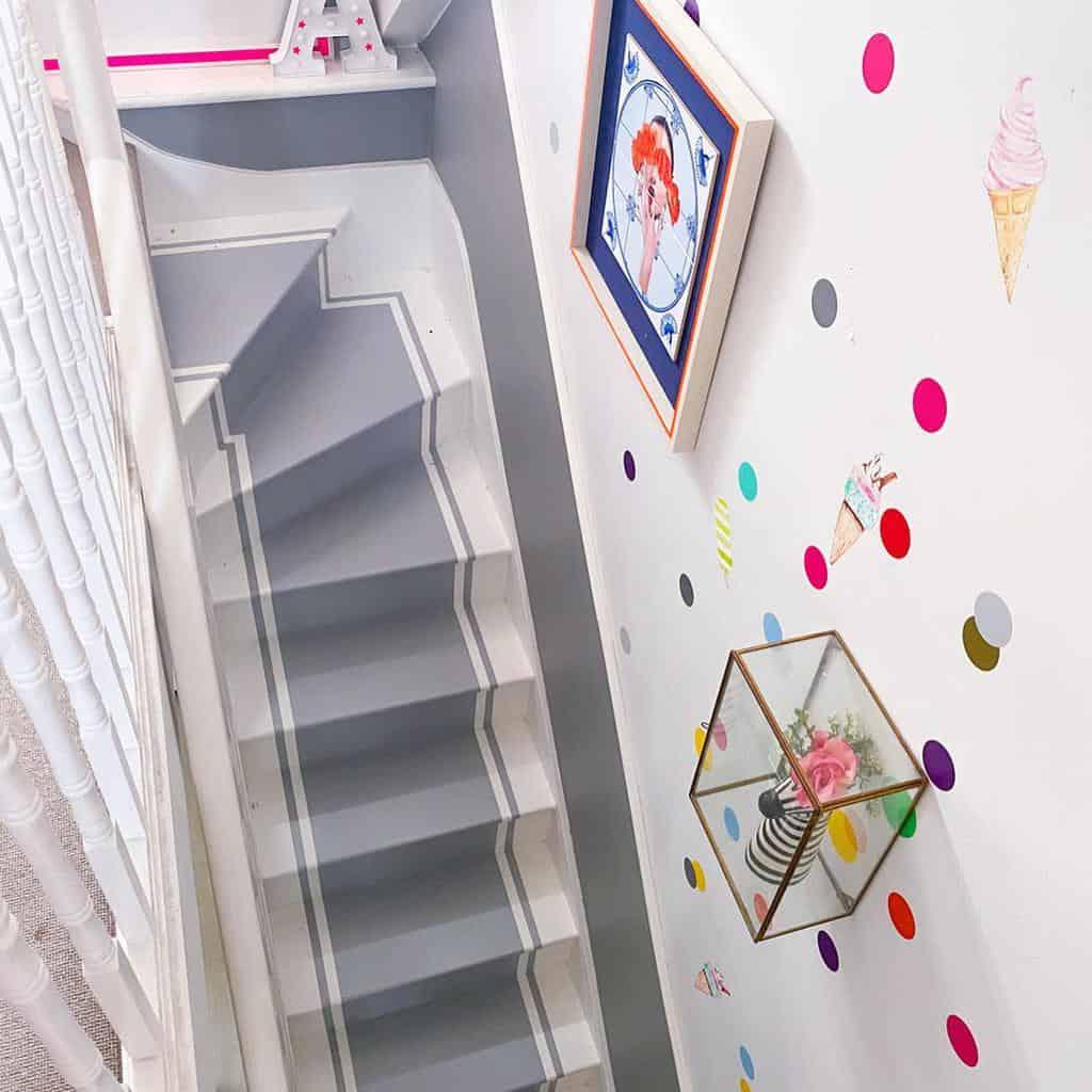 Painted Stair Runner Ideas -lucyhamiltonathome