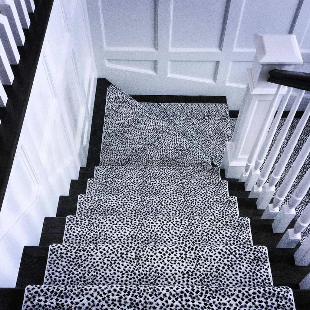 Painted Stair Runner Ideas -nina_seed_interiors