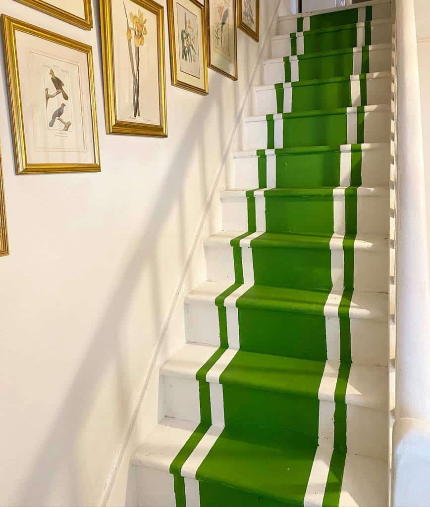Painted Stair Runner Ideas -seansymington