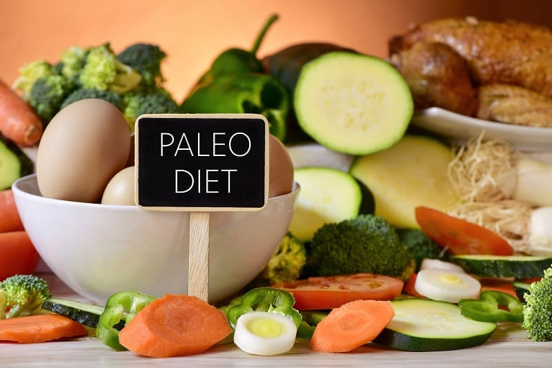 Close, Of, A, Signboard, With, The, Text, Paleo, Diet, On