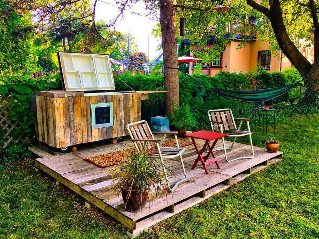 Pallet DIY Backyard Ideas -peppermint_kidnapper