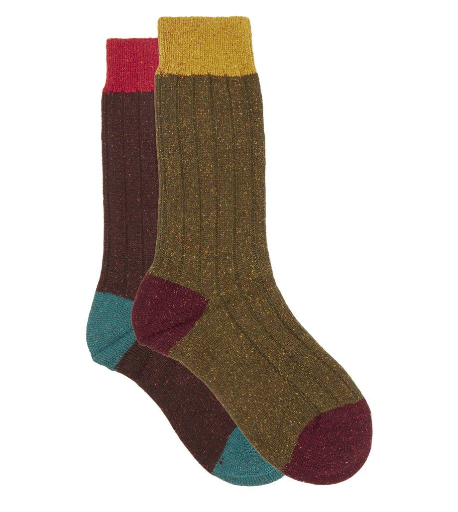 Pantherella Thornham Ribbed Socks