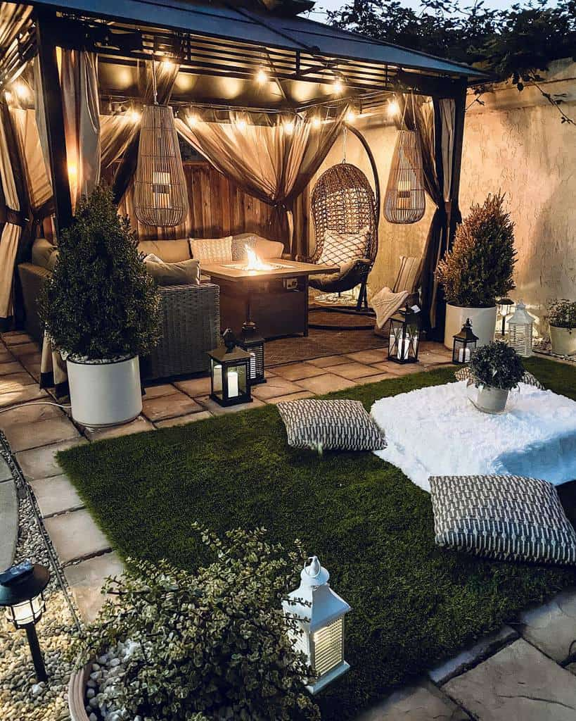 Patio DIY Backyard Ideas -zarinahome_