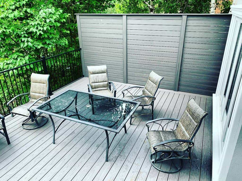 Patio Deck Privacy Ideas -boothwrks