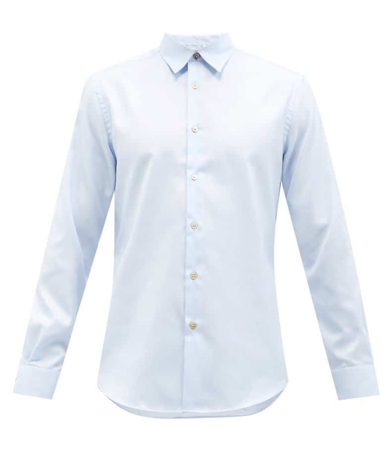 Paul Smith Cotton Poplin Shirt