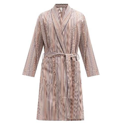 Paul Smith Signature Striped Cotton Robe