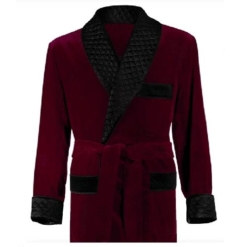 Paul Stuart's Velvet Smoking Jacket