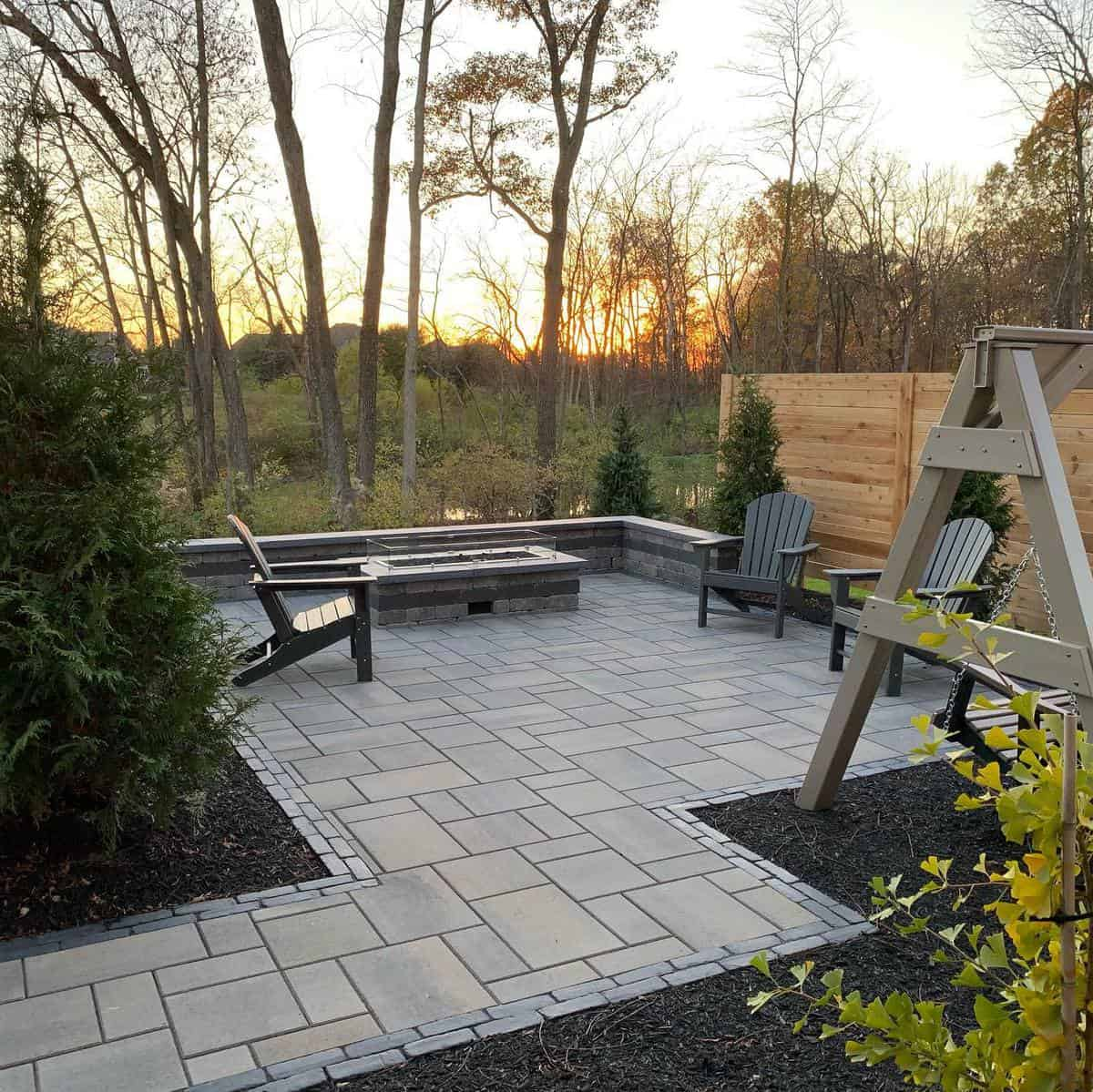 Paved Grass Free Yard Ideas -sugarcreeklandscapesllc