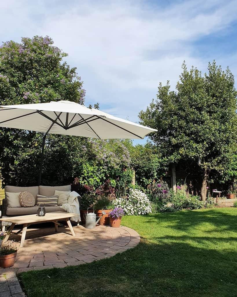 Paver Patio Garden Ideas -rosemounthouse