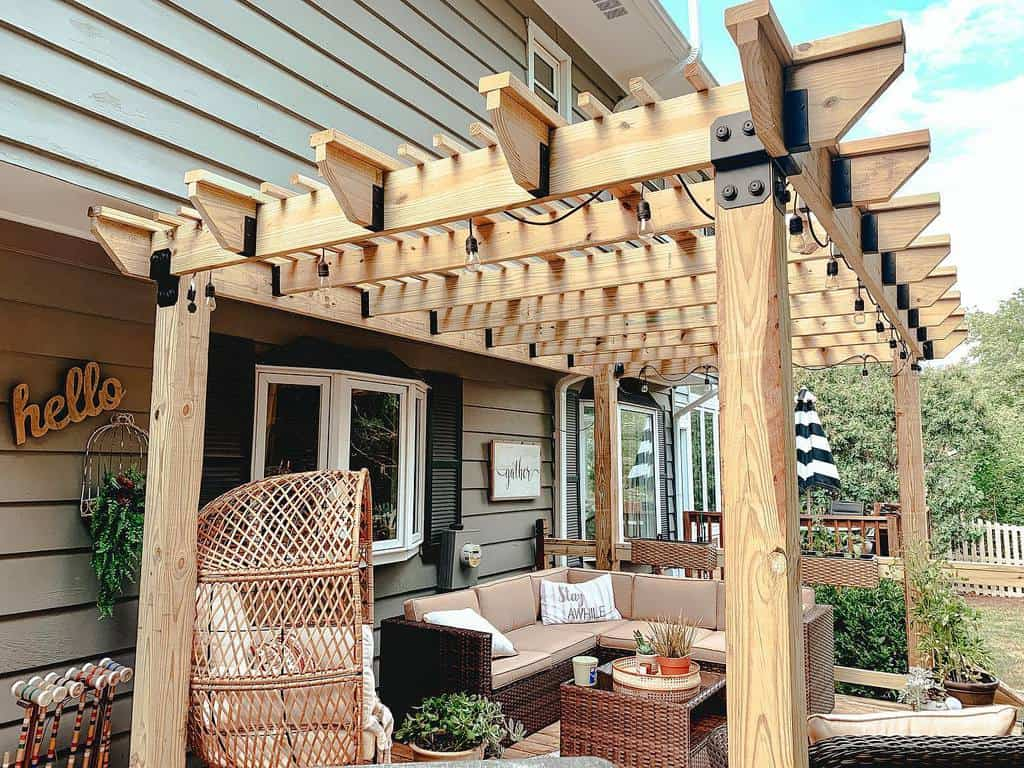 Pergolas DIY Backyard Ideas -barbieplankenhorn