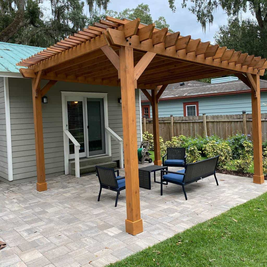 Pergolas DIY Backyard Ideas -danhyatt2
