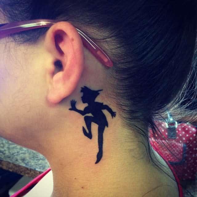 Peter Pan Silhouette Tattoo Mikejohnsontattoos