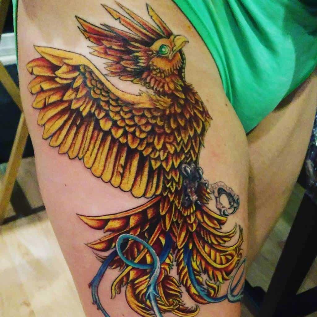 Phoenix Rising Hip Tattoo big_fat_tatties