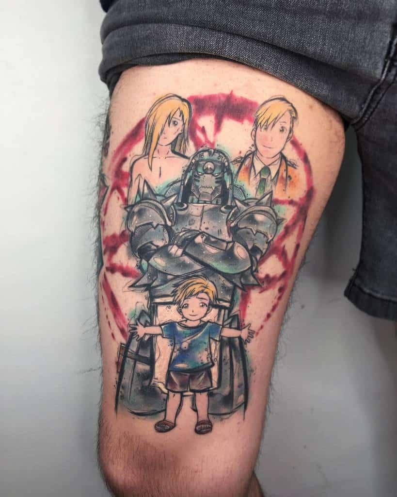 Photo And Portrait Full Metal Alchemist Pez.tatuajes