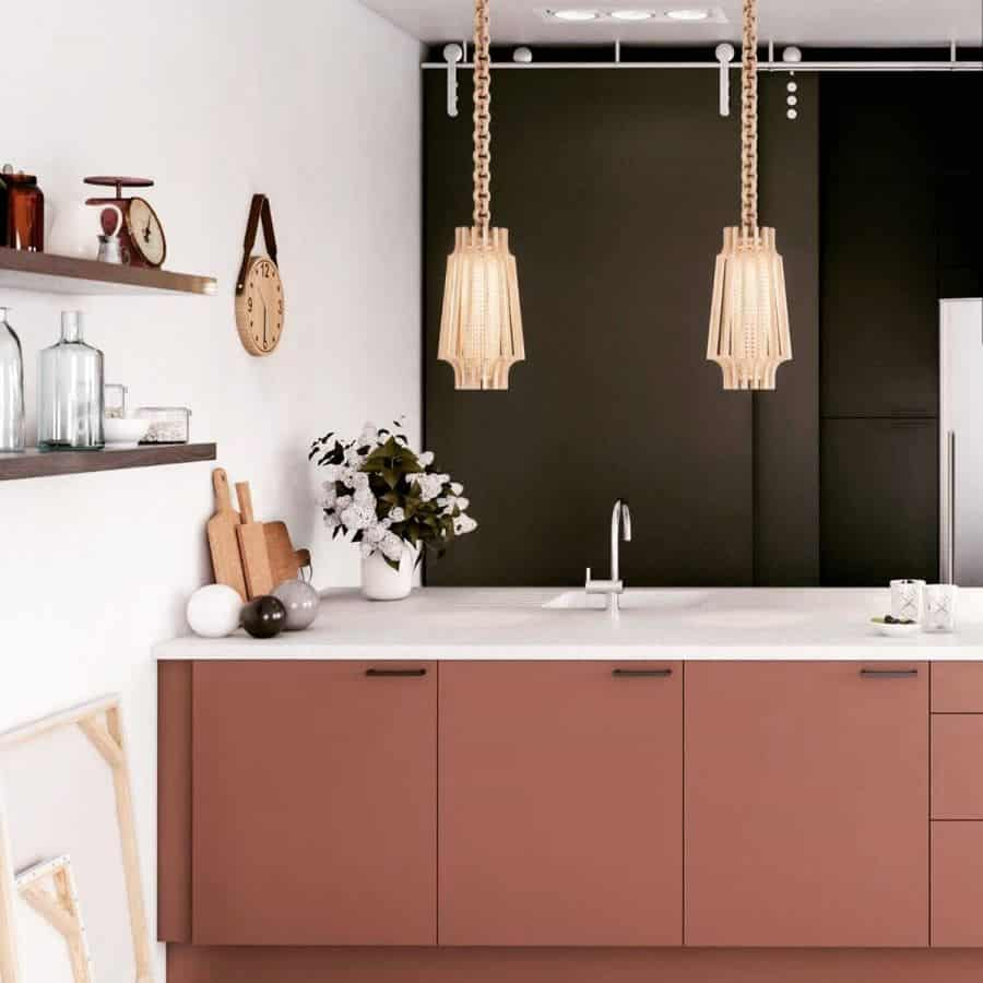 Pink Kitchen Cabinet Color Ideas les_couleurs_de_la_deco