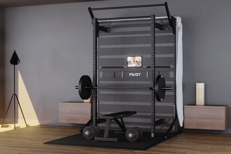 The Pivot Bed Is The Home Gym You Didn't Know You Needed